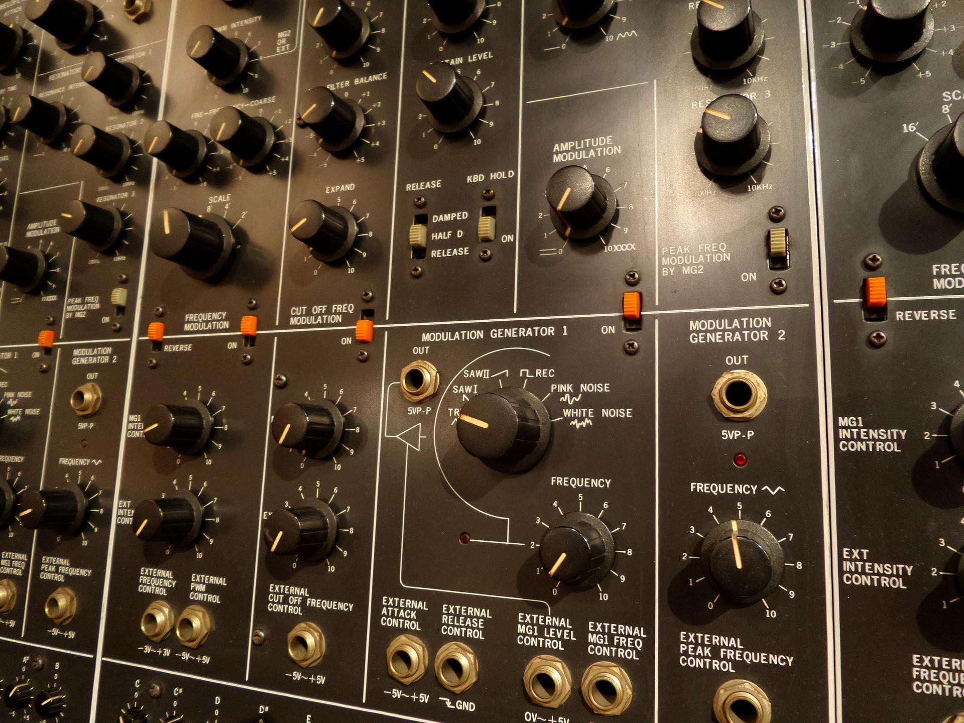 Synth Contrôles de modulation