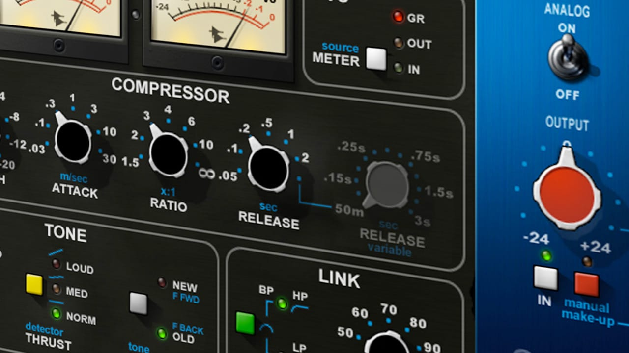 compression dynamique du son (plugins Waves audio)